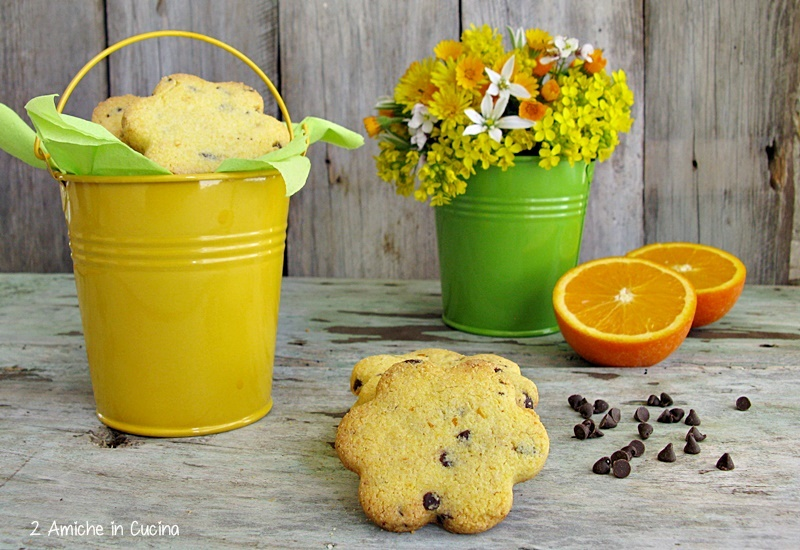 frollini gluten free all'arancia e cioccolato fondente