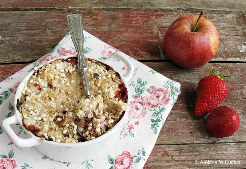 Crumble di mele e fragole di Jamie Oliver per il #FoodRevolutionDay 2015