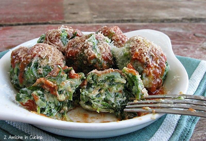 Gnocchi verdi con spinaci ericotta