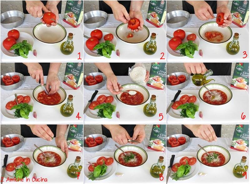 preparazione passo passo di uno dei primi piatti più tipici della cucina romana
