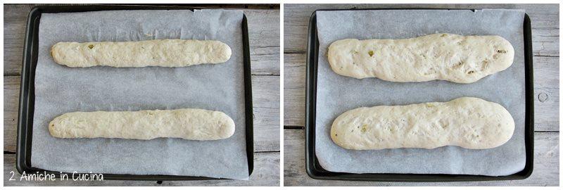 Pane al farro e fichi preparazione