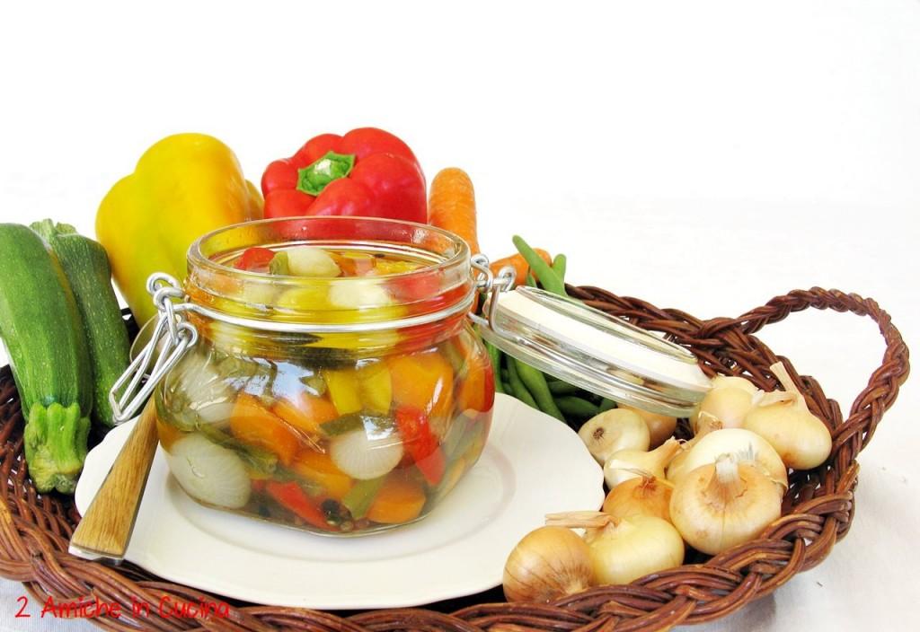 Verdure in agrodolce