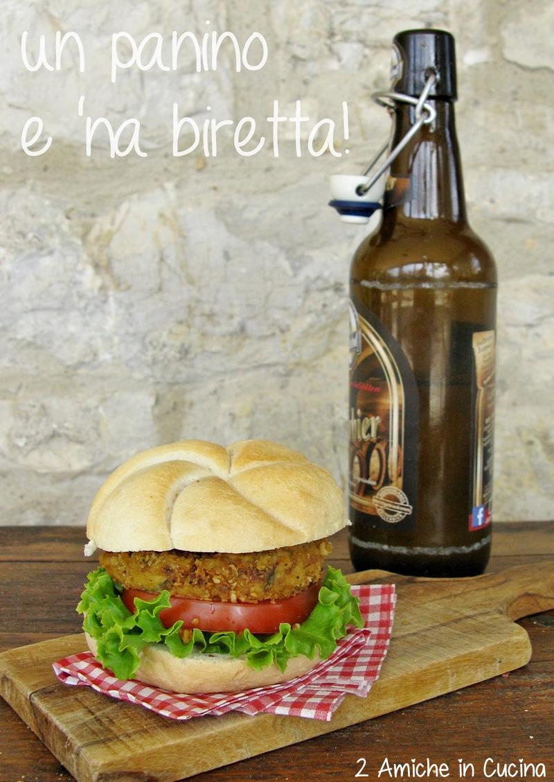 panino e birra