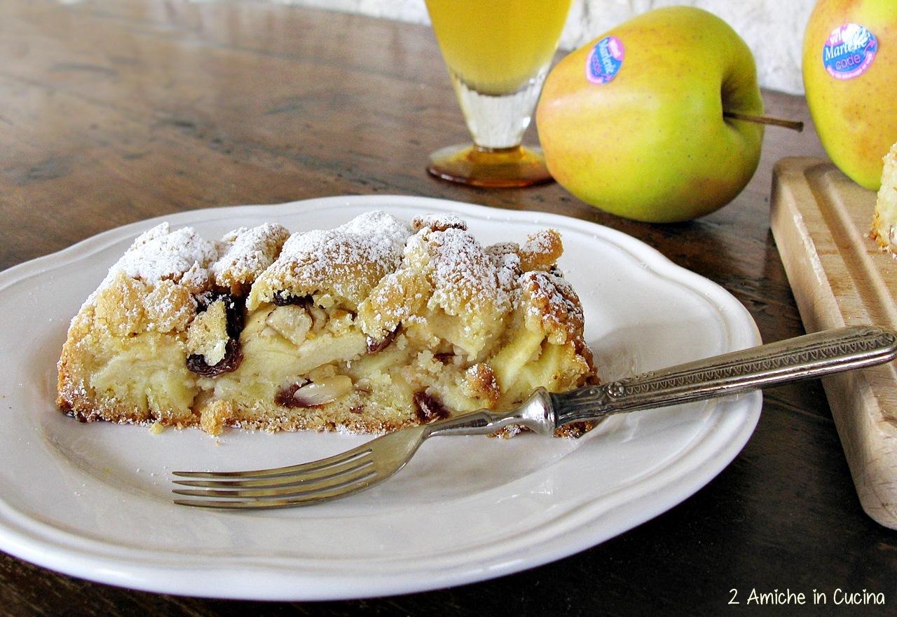 Strudel di mele con pasta frolla 2 amiche in cucina - Immagini stampabili di mele ...