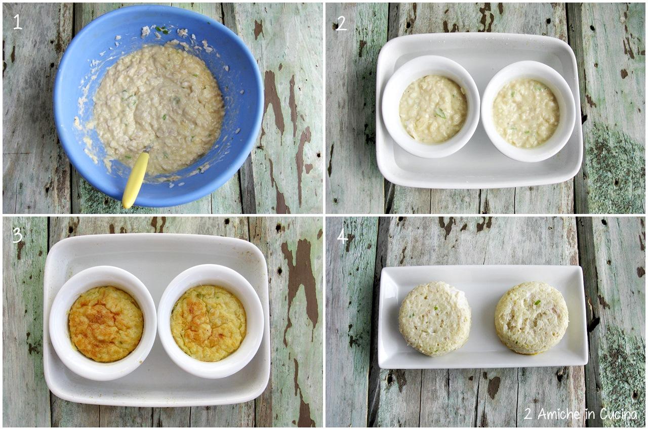 hamburger di riso e pesce preparazione passo passo