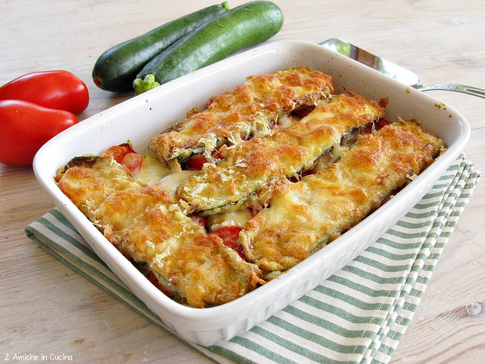 Sformato di verdure e formaggi