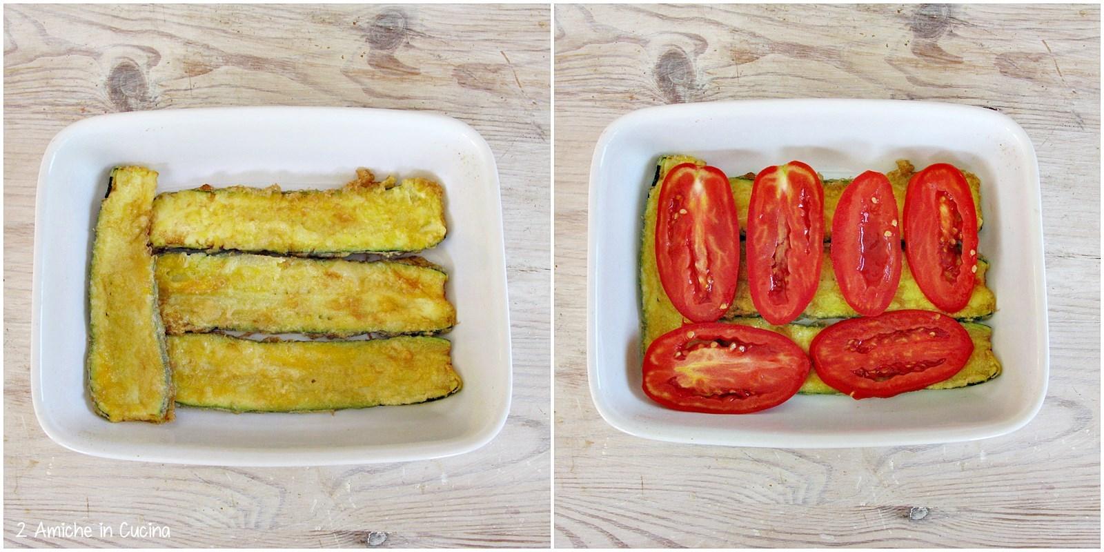Come preparare una parmigiana con verdure a crudo