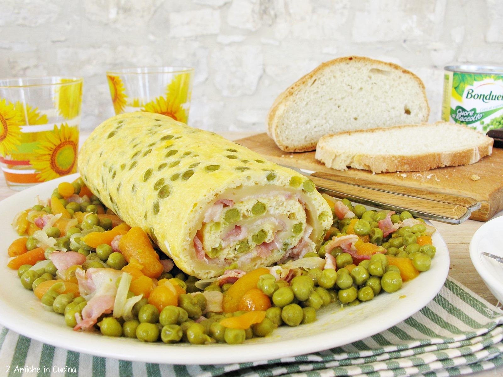 secondo freddo con uova e verdure