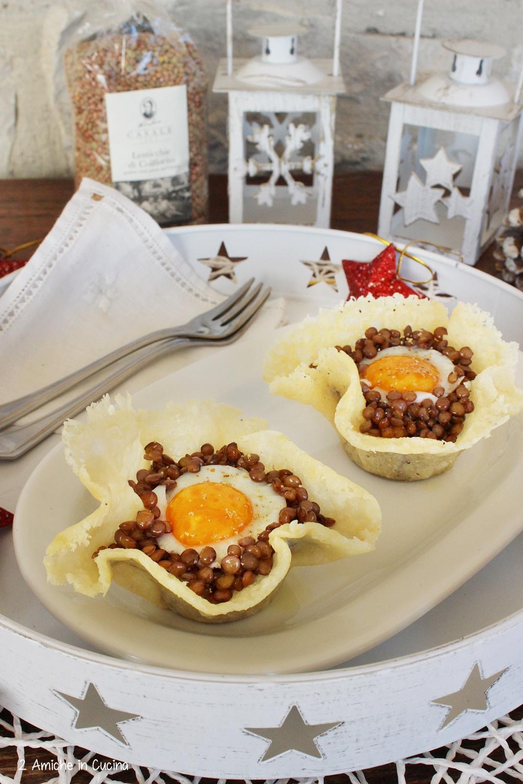 Lenticchie e uova di quaglia per Capodanno