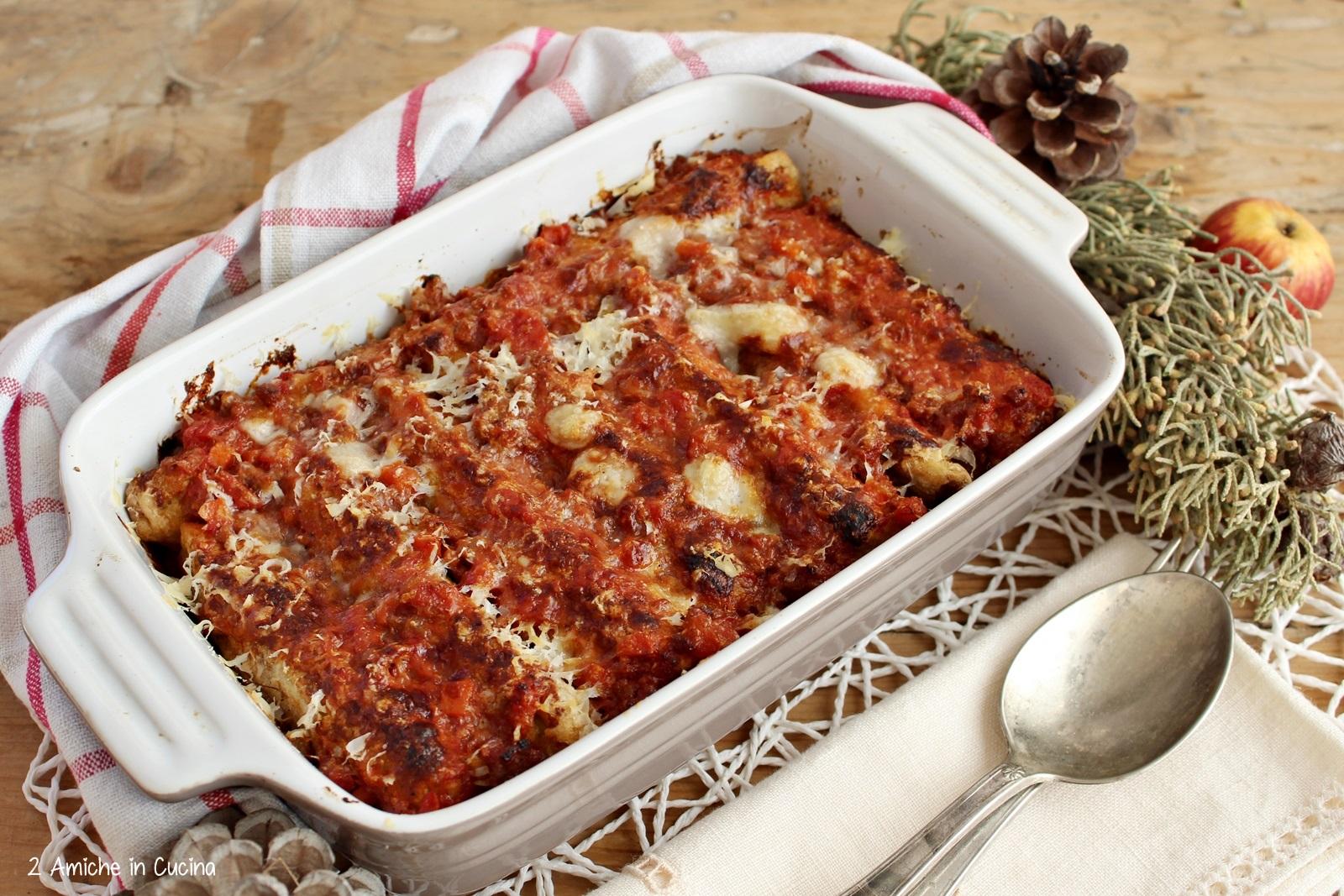 Parmigiana delle feste, ricetta tipica umbra