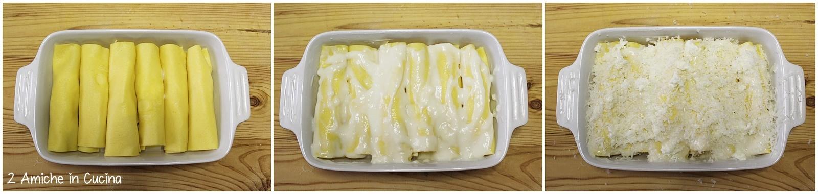 Cannelloni ai formaggi e salvia passo passo