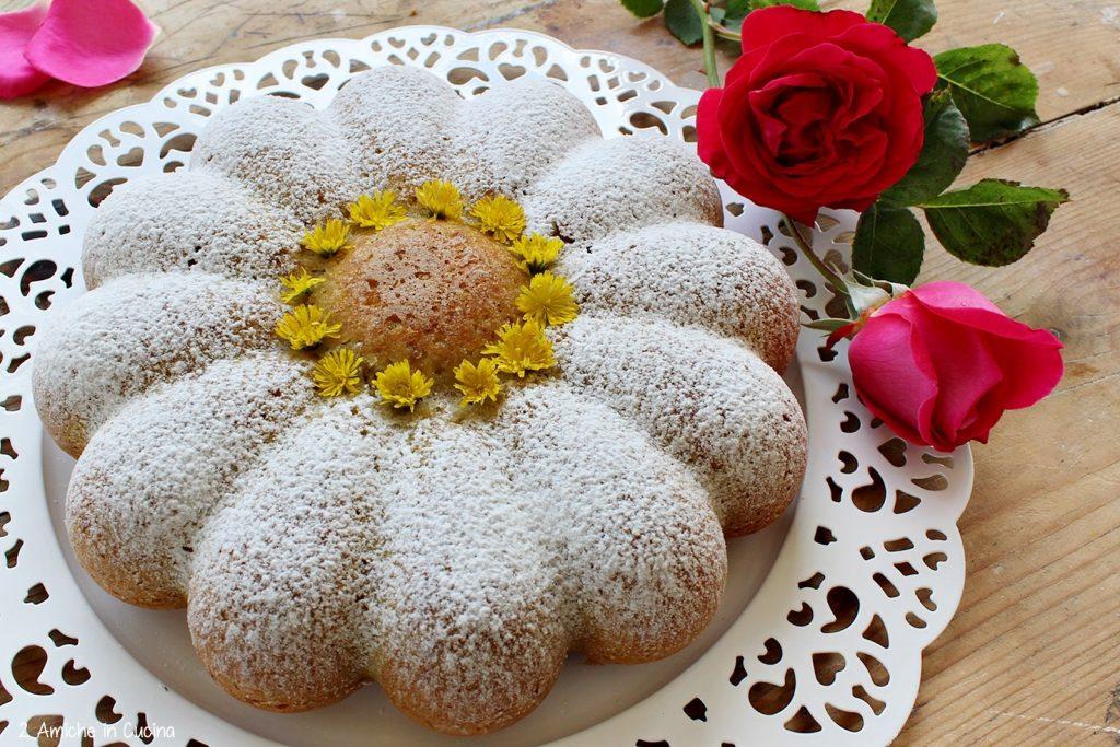 Torta margherita alle rose 2 amiche in cucina for Isola cucina a forma di torta