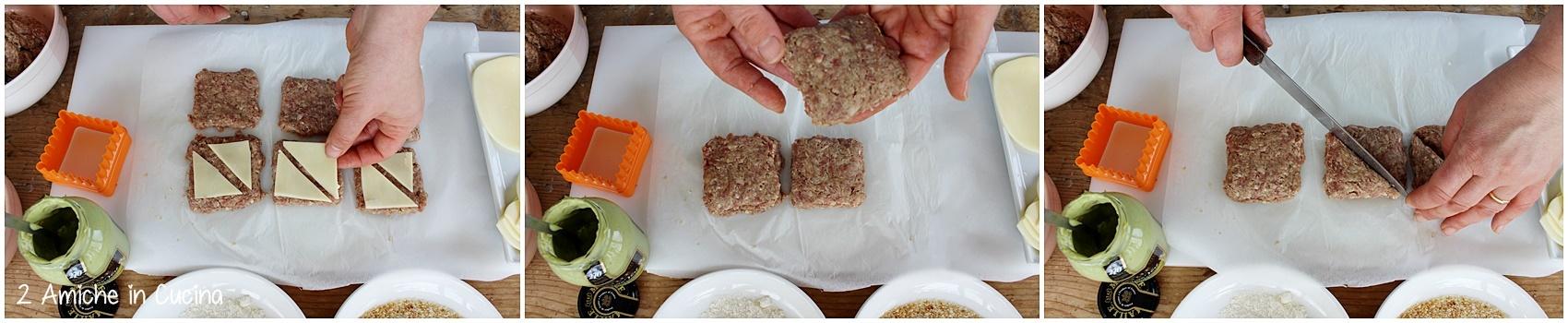 Tramezzini di carne alla senape