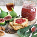 confettura di fichi e mandorle al passito di pantelleria