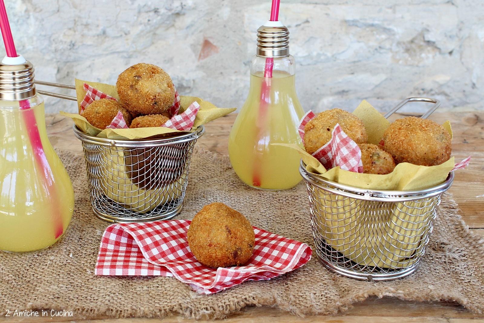 Crocchette di cereali e verdure un finger food goloso for Antipasti cucina romana