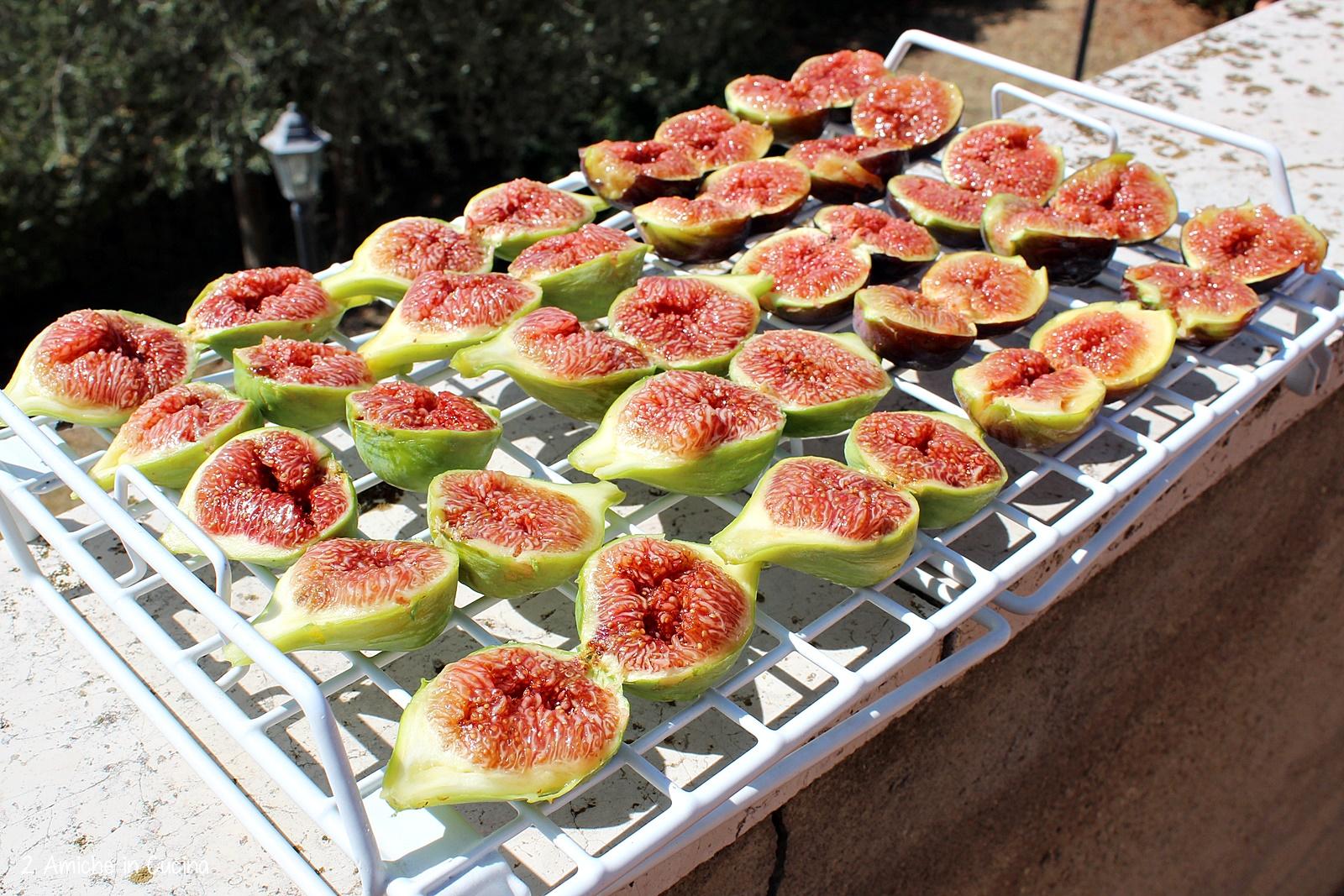 Fichi essiccati al sole di Agosto, perfetti da conservare