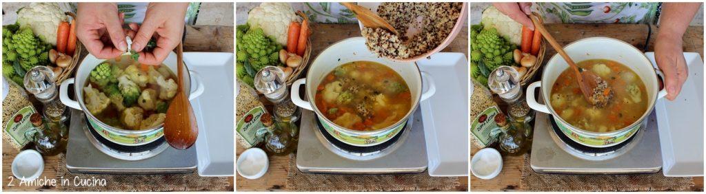 zuppa latina con verdure passo passo 9
