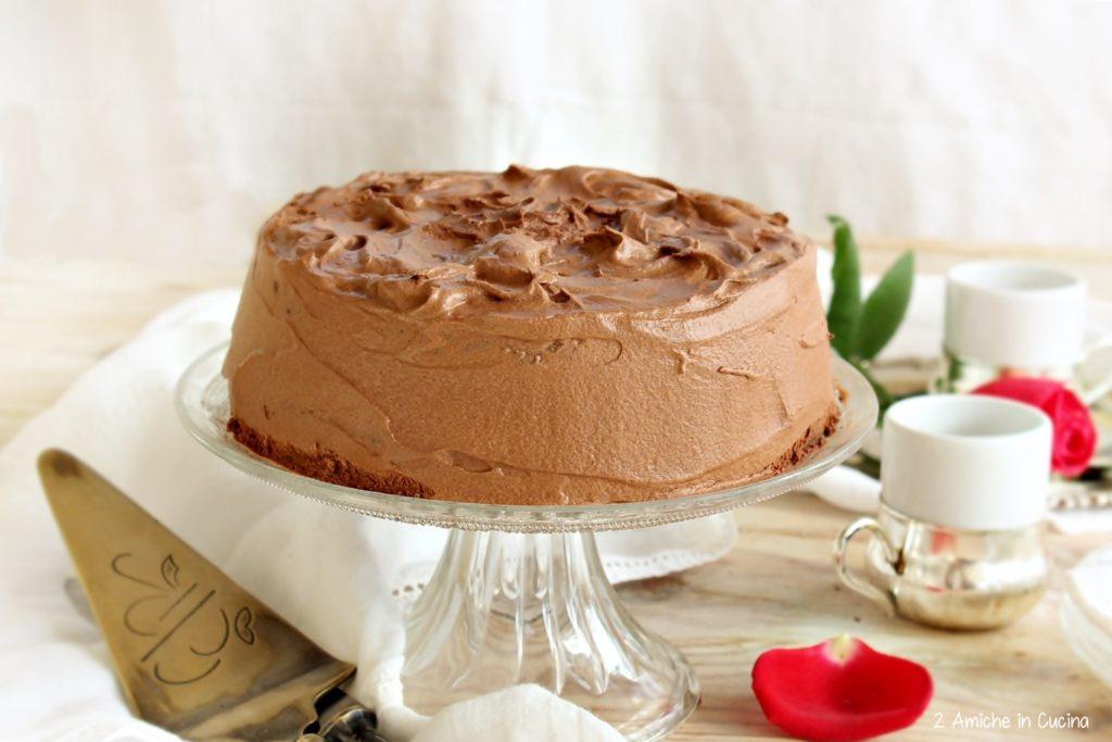 Torta al cioccolato e nocciole