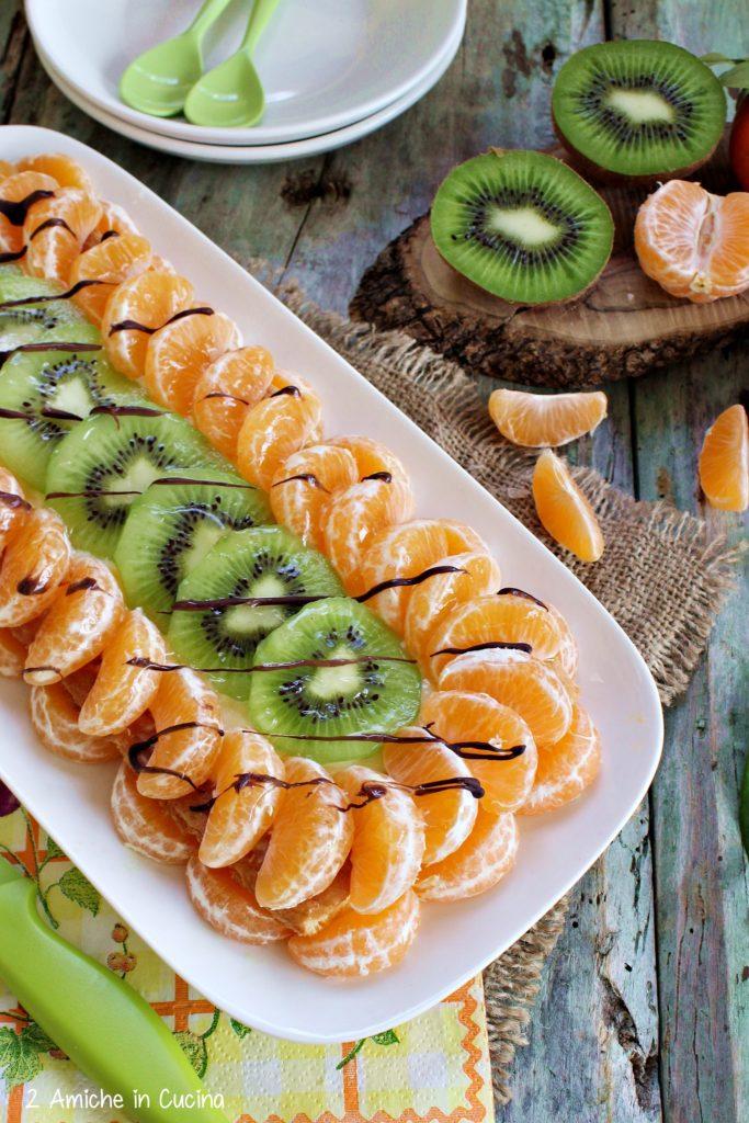 Torta alla frutta kiwi e clementine
