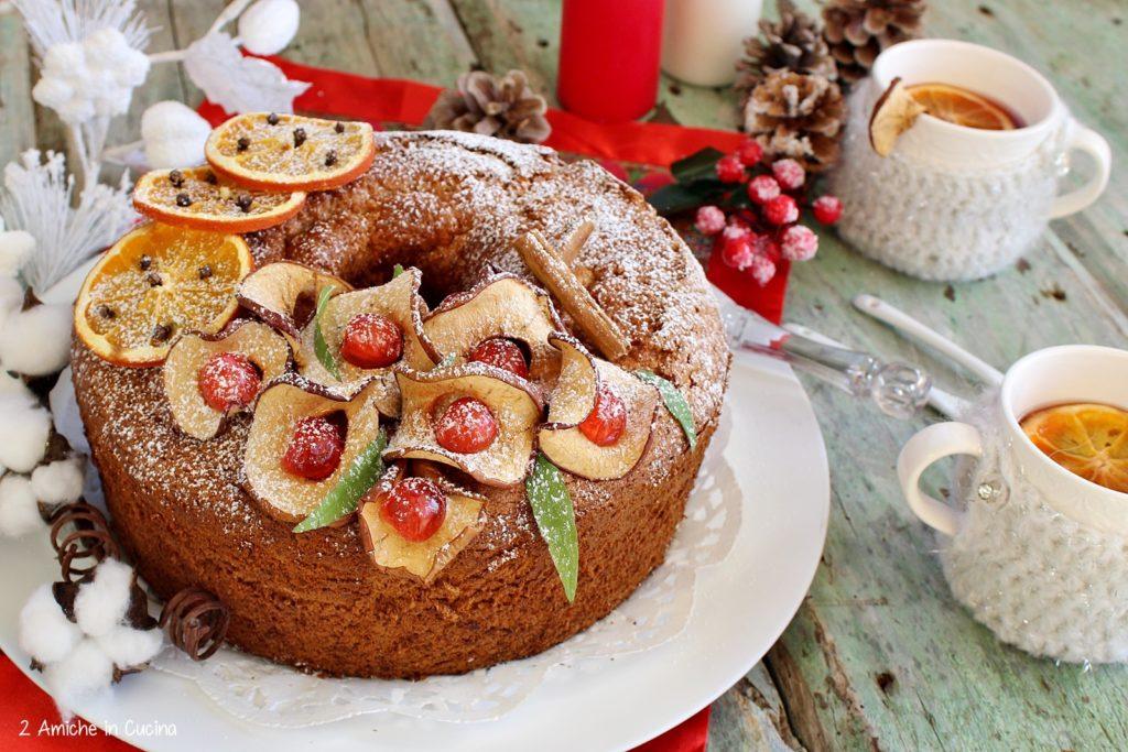 Chiffon cake speziata