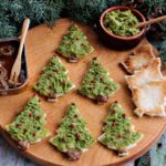 Crostini con broccolo e alici in salsa piccante