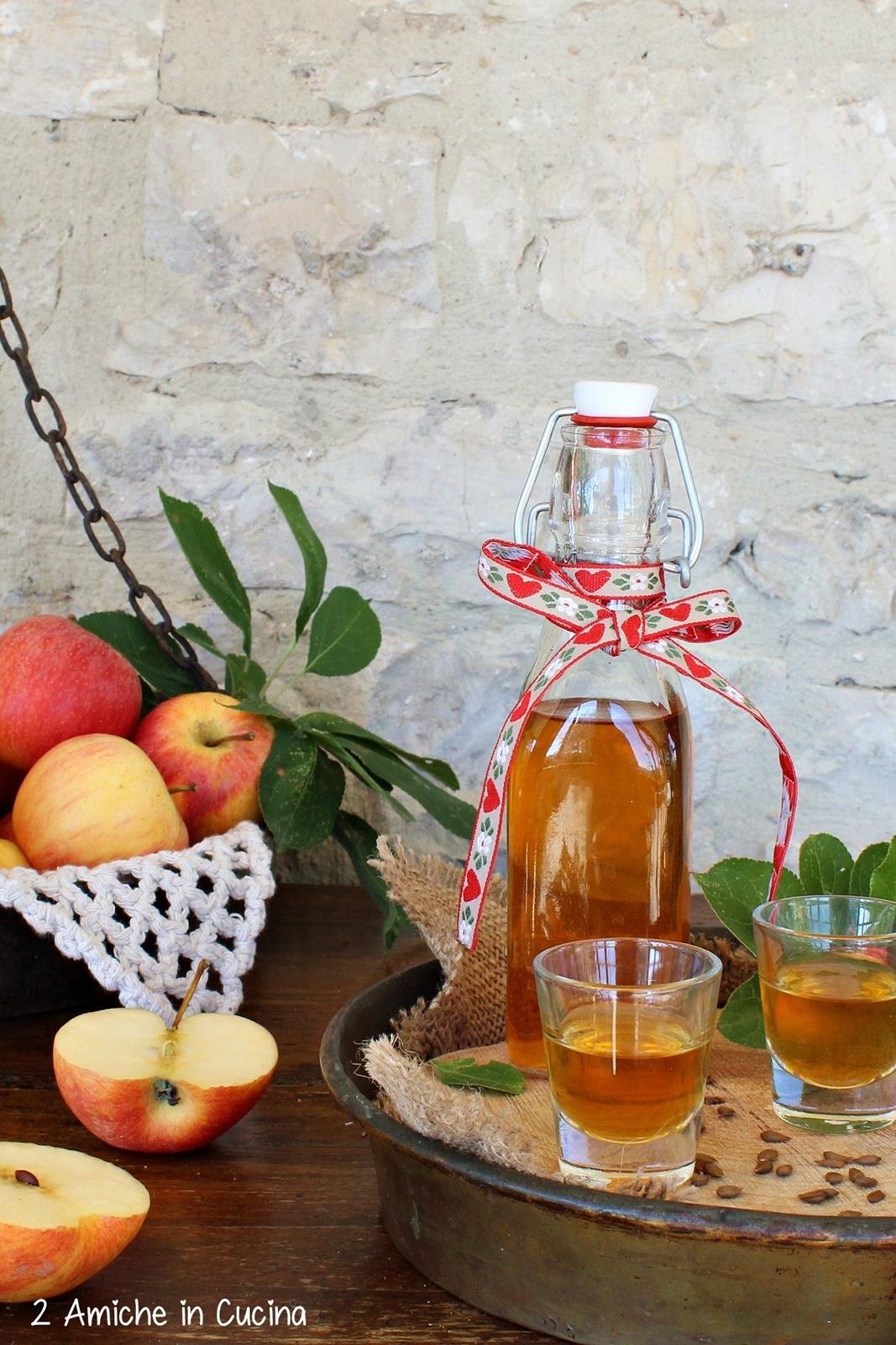 Liquore ai semi di mela - liquori fatti in casa