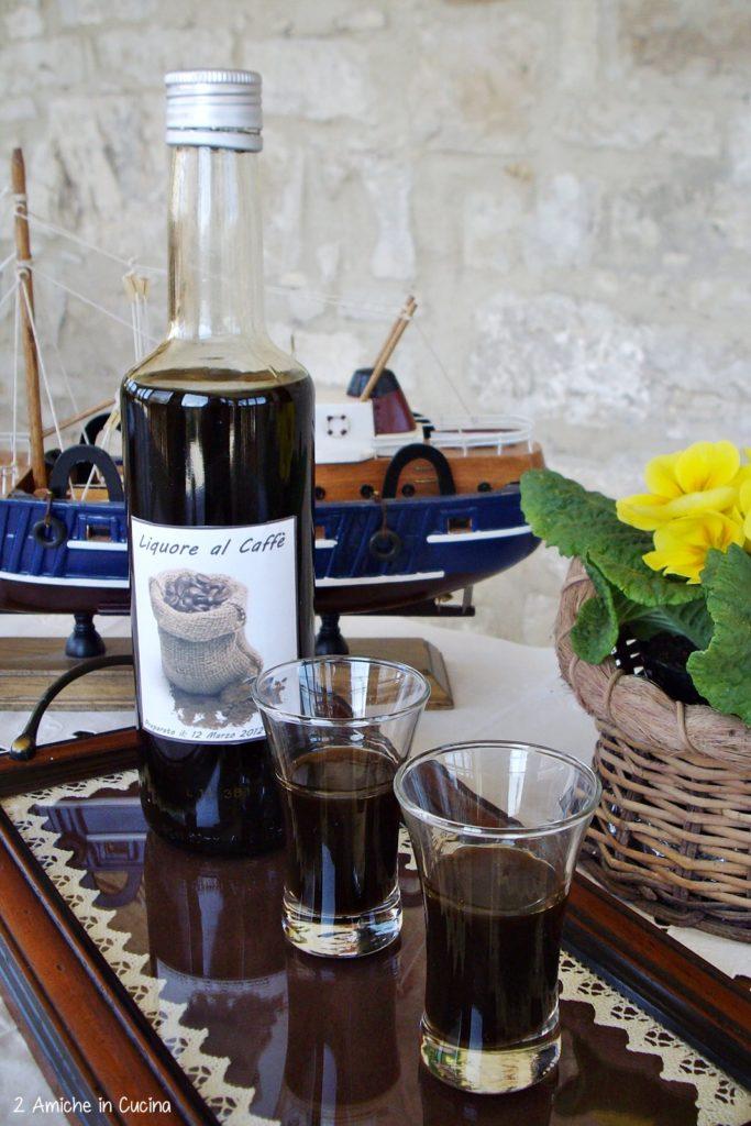 Liquore al caffè, fare i liquori in casa