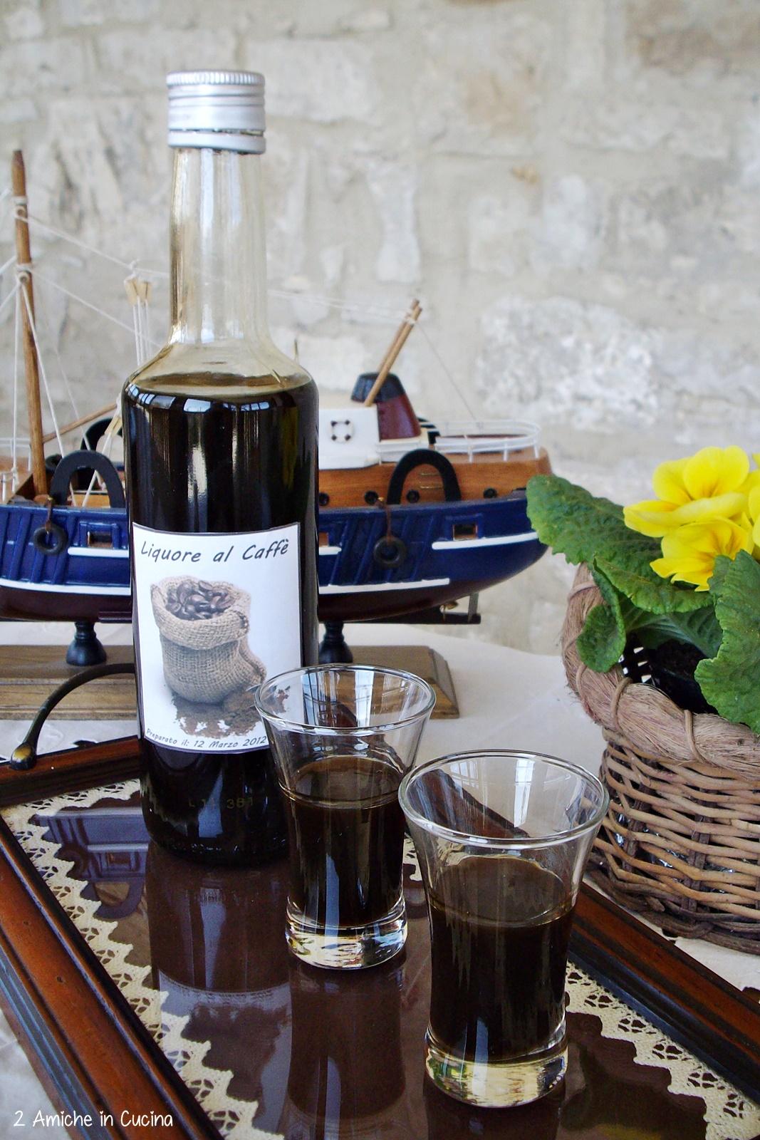 Liquore al caffè - liquori fatti in casa