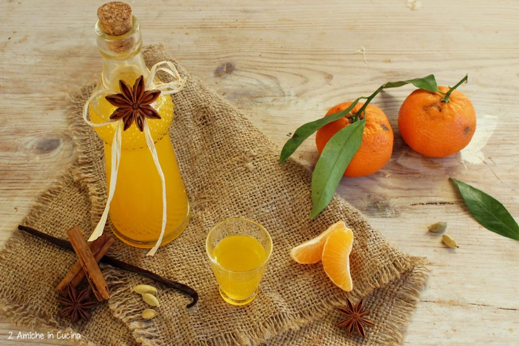 Liquore alle clementine e spezie