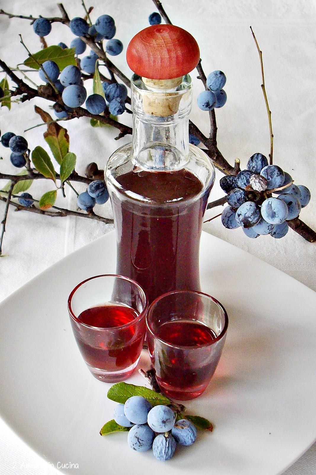 Liquore di prugne selvatiche - liquori fatti in casa