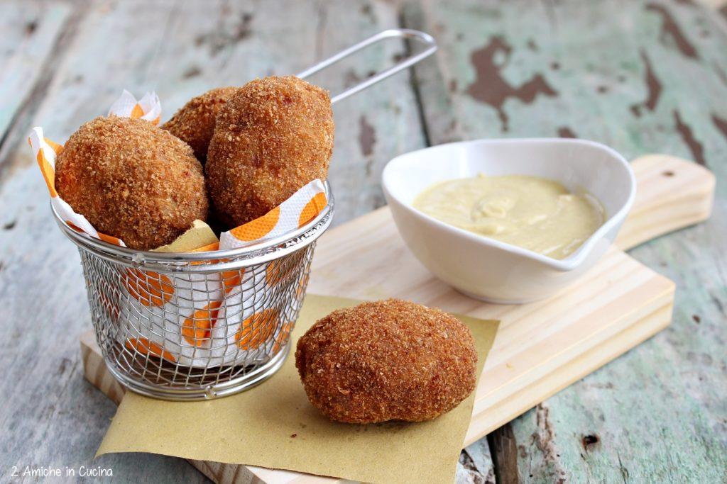 Uova di quaglia alla scozzese-Scotch quail eggs di Jamie Oliver