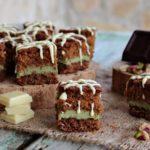 Cubotti al cioccolato e pistacchio