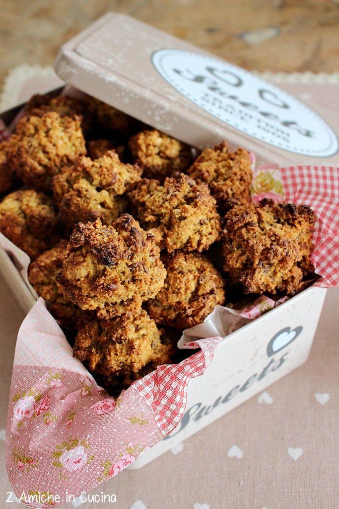 biscotti di orzo- cocco-semi- nocciole