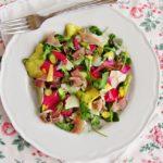 insalata con le rose- ricette con le rose