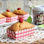 Mini plumcake al cocco con fragoline e limone 1