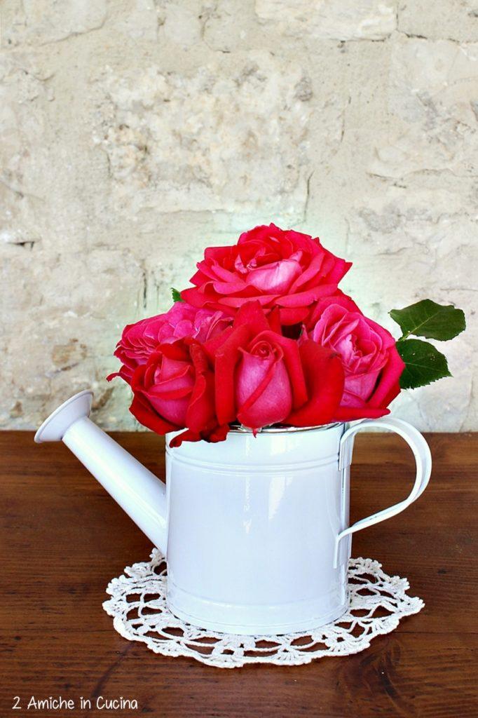 liquore alle rose-cannella- liquori fatti in casa