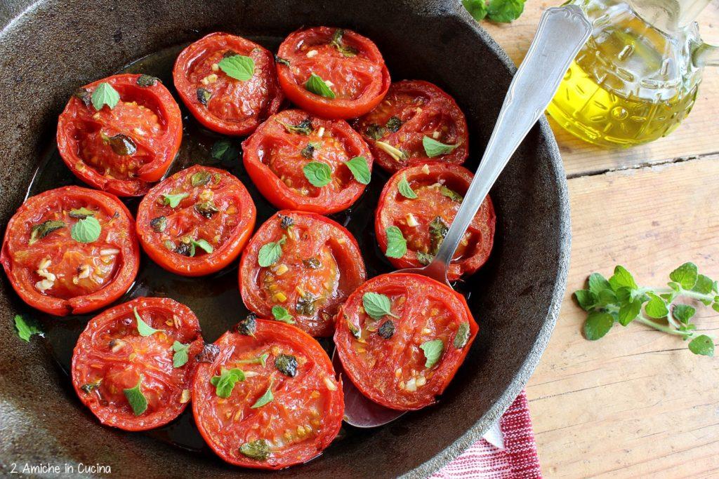 pomodori in padella- ricetta umbra