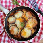 parmigiana di melanzane n padella, senza forno