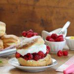 shortcakes alle fragole e lamponi di Nigella Lawson
