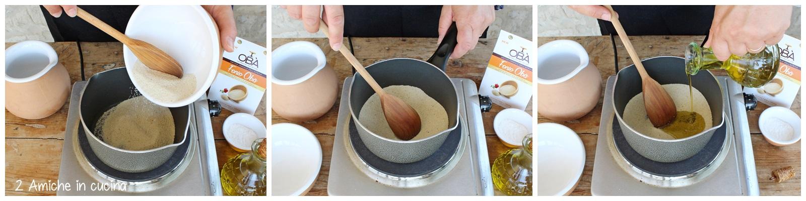 Sformato di gnocchi di fonio e peperoni, ricetta senza nichel, senza lattosio e senza glutine