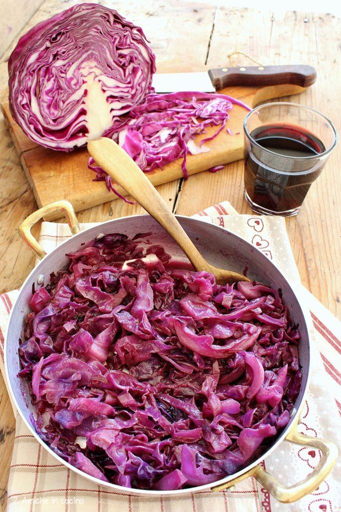 Cavolo con vino rosso, ricetta friulana