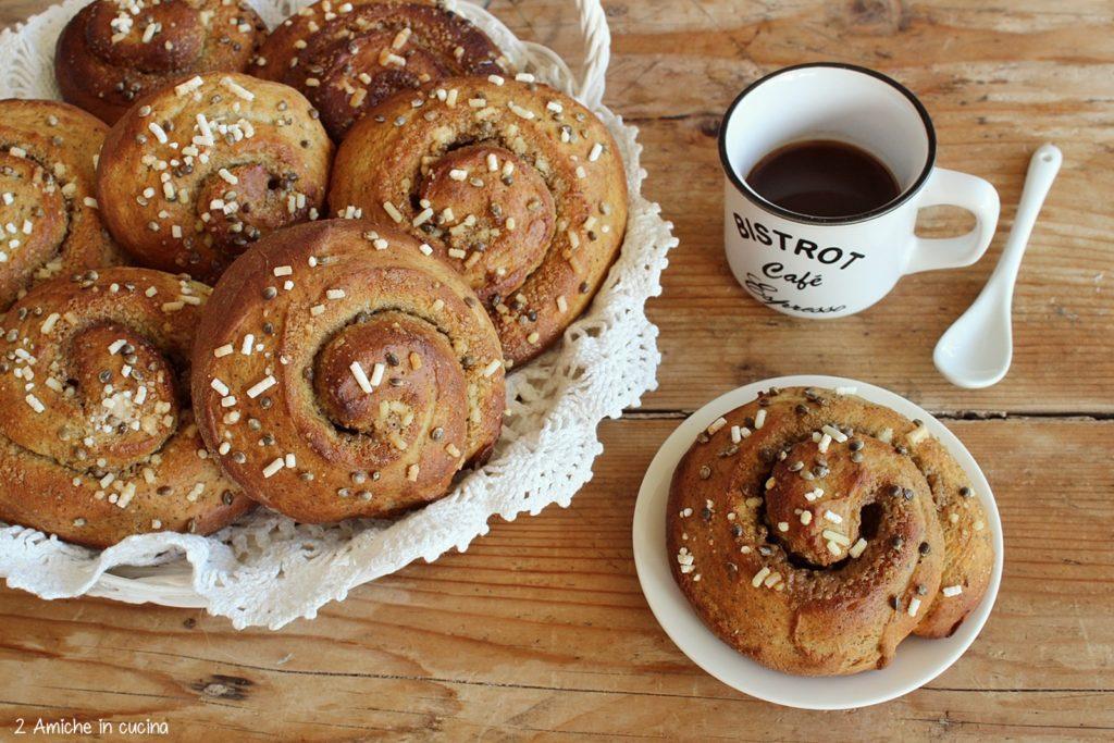 Cinnamon rolls alla canapa