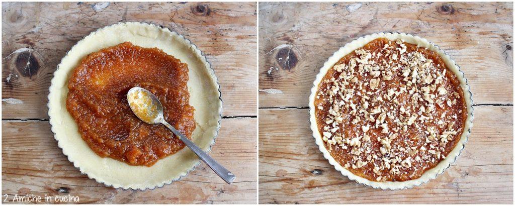 Ricette per preparare la crostata di zucca e noci