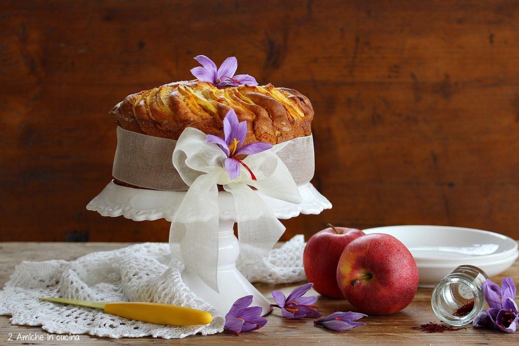 Torta di mele e zafferano