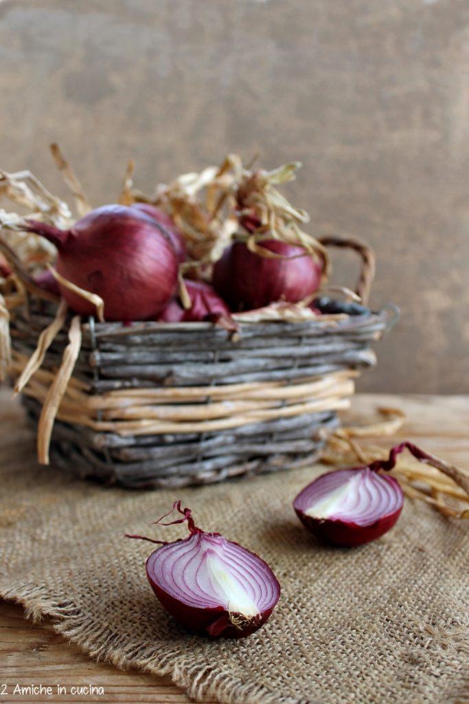 Cipolle rosse di Cannara, dolci e perfette per la confettura