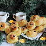 Lussekatter dolcetti svedesi Santa Lucia