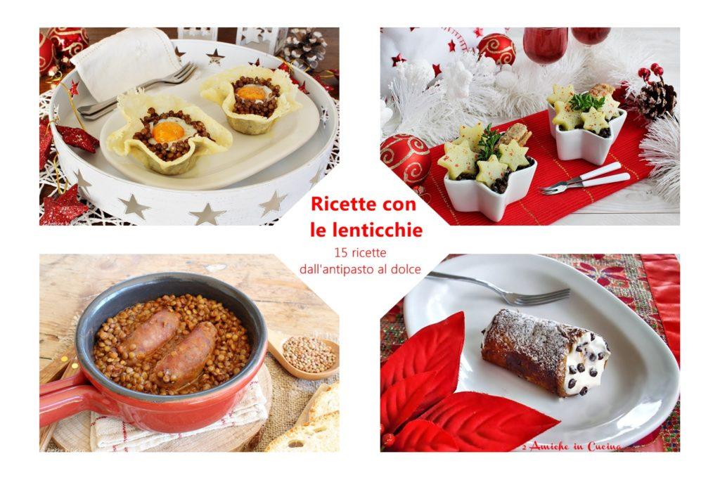 Ricette con le lenticchie – 15 piatti dall'antipasto al dolce