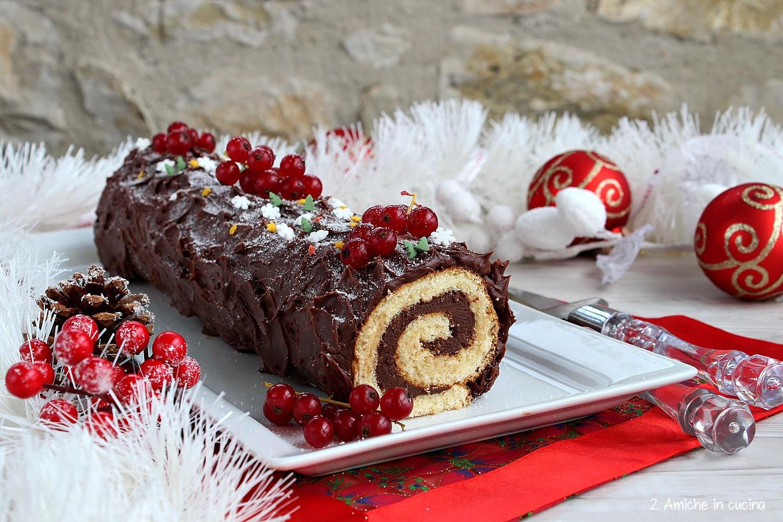 Tronchetto al cioccolato - Bûche de Noël