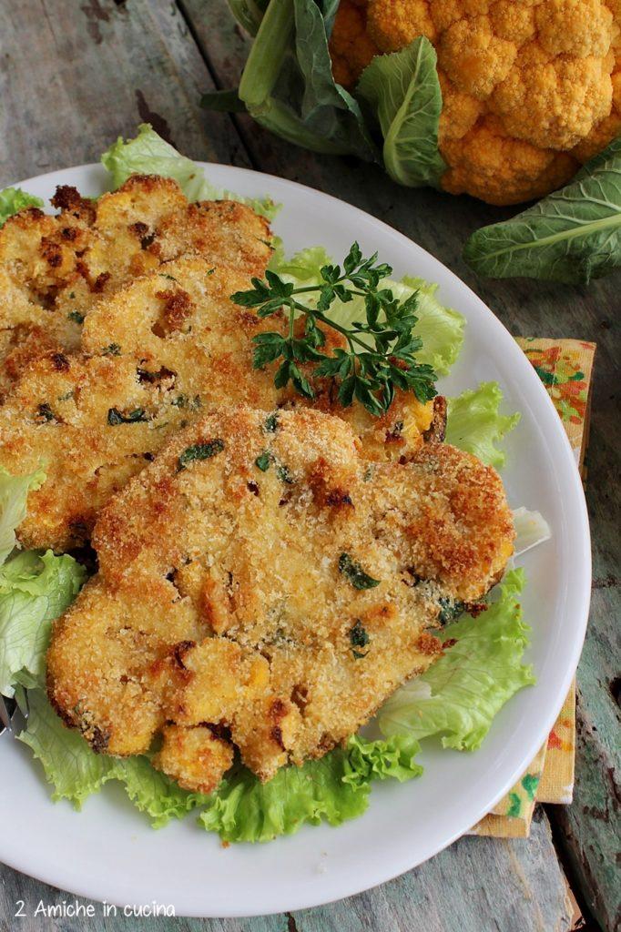 Cotolette vegetali cotte in forno con parmigiano reggiano
