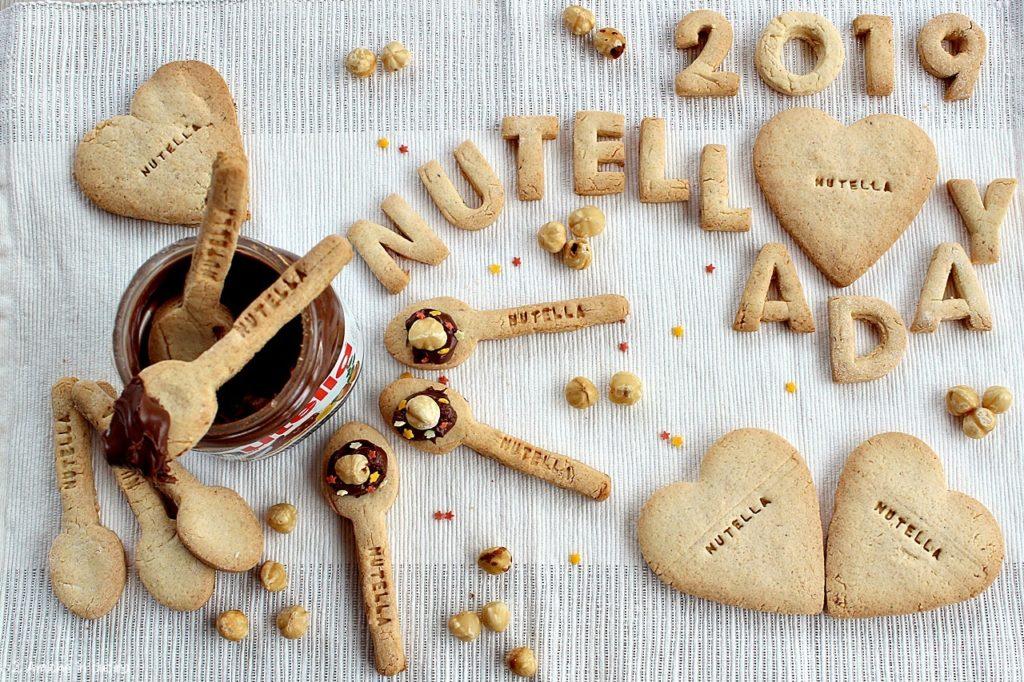 Biscotti alle nocciole per il World Nutella  Day 2019